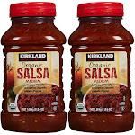 Kirkland Signature Organic Salsa, Medium - 2 pack, 38 oz each