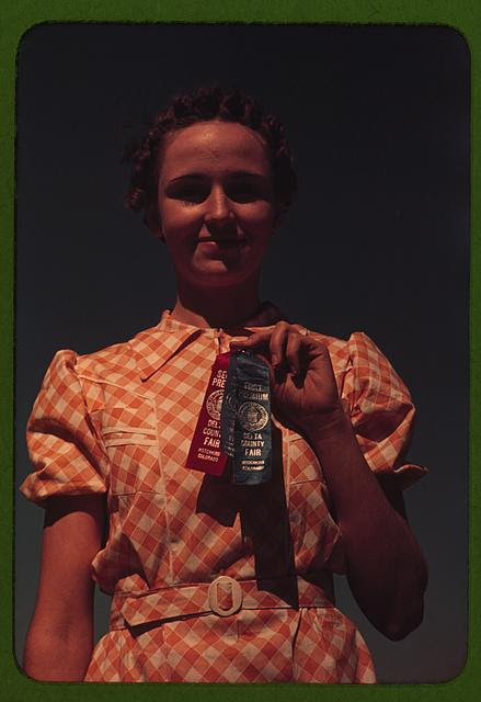 Winner at the Delta County Fair, Colorado, Farm Security Administration/Office of War Information Color Photographs, http://hdl.loc.gov/loc.pnp/fsac.1a34201