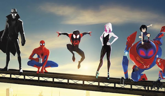 SPIDER-MAN: INTO THE SPIDER-VERSE (2018) International Extended Sneak Peek Video Features New Footage | FilmBook