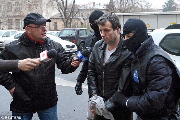 Romanian hackerMarcel Lehel Lazar (above), 44, was extradited to the U.S. from Romania last month - he accused of cyber crimes - he himself claims he has hacked into Hillary Clinton's email