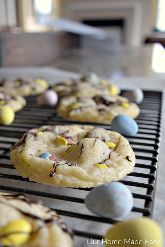 Easy & Festive Easter Cookie Recipe (It Only Needs 3 Ingredients!) - Our Home Made Easy