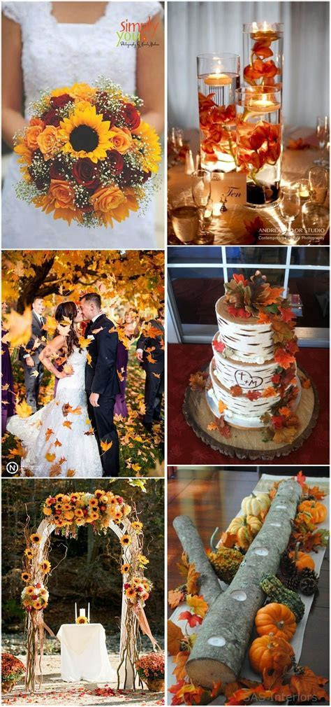23 Best Fall Wedding Ideas in 2019   Cool Weddings   Fall