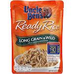 Uncle Ben's Ready Rice Long Grain & Wild - 8.8oz