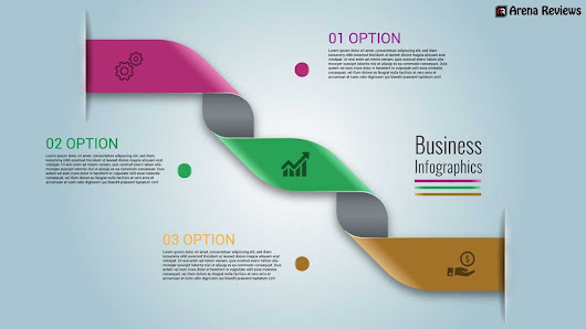 How to Create Rounded Ribbon Business Infographics Vector in Illustrator