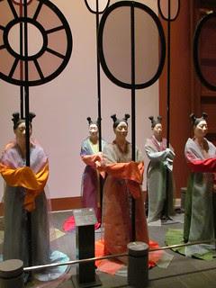 Osaka Museum of History - Imperial Shade Bearers