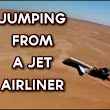 Bailing Out of A Jet Airline For Science | Air Sports Net