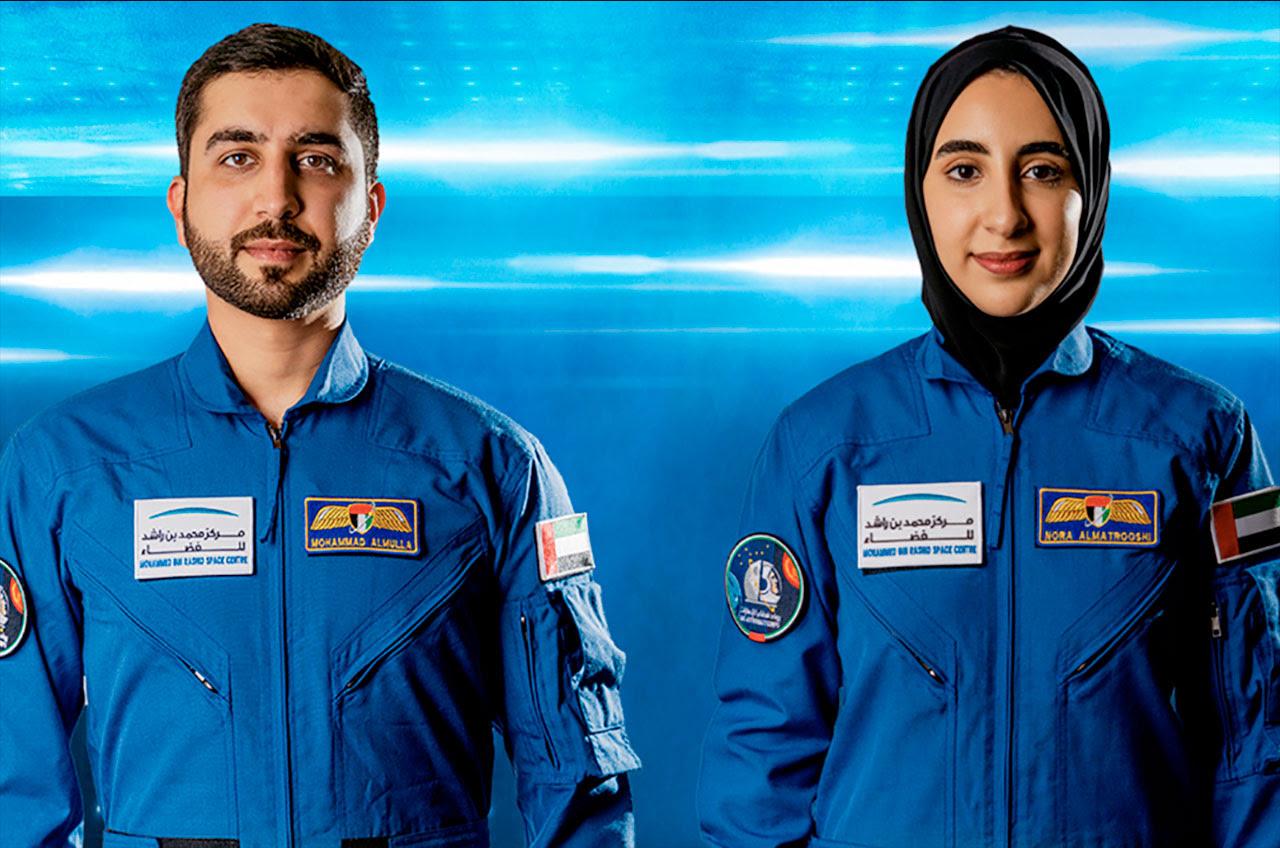 UAE names two new astronauts, including first woman candidate #rwanda #RwOT ##ramadanmubarak