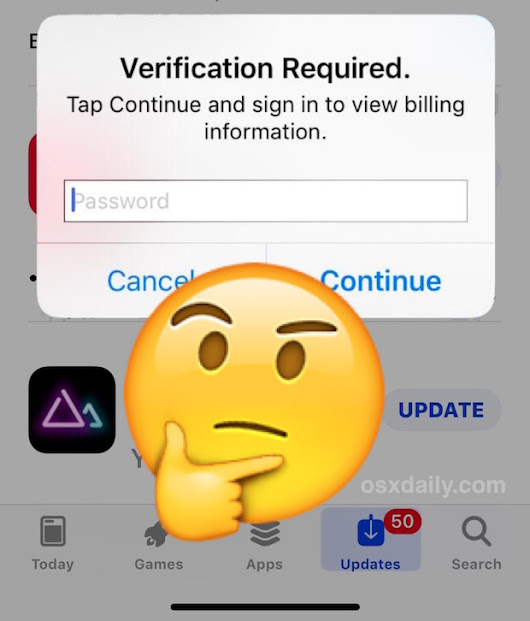 "How to Fix ""Verification Required"" for Apps Downloads on iPhone and iPad"