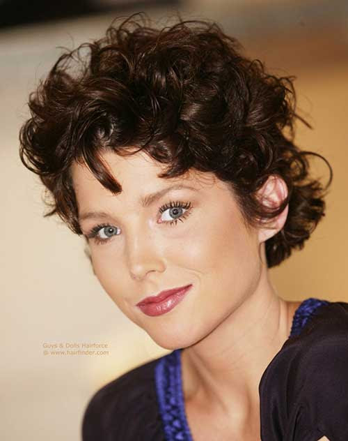 Must-See Short Naturally Curly Hairstyles   Short ...