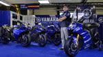 Yamaha YZR-M1 race-blu, Misano