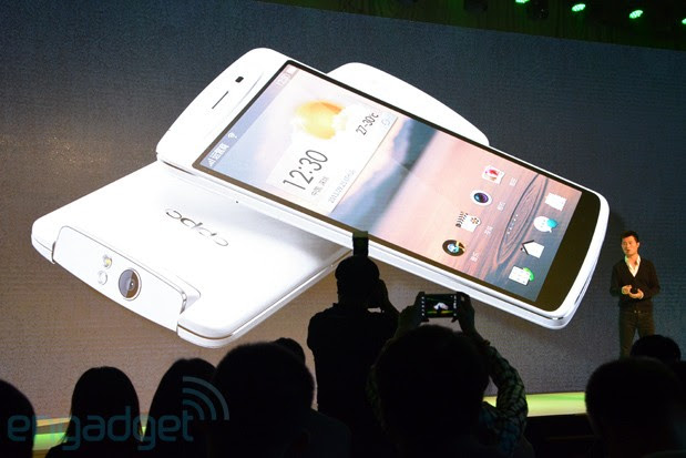 Oppo N1 is China's answer to TKTK, packs TKTK and CyanogenMod