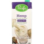 Pacific Foods Unsweetened Hemp Milk, Original - 32 fl oz carton