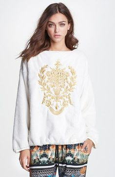 Clover Canyon Embroidered Sweatshirt available at #Nordstrom