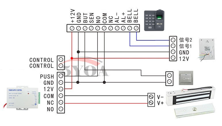 Smart Lock Wiring Diagram
