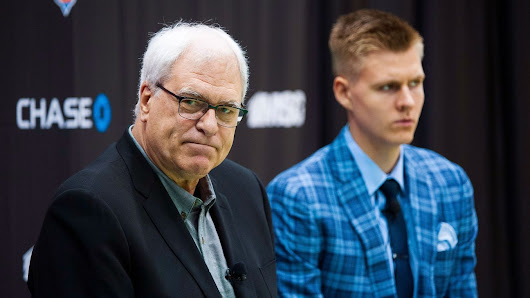 New York Knicks, team president Phil Jackson to part ways Wednesday