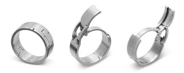 Gear Lust Alert Titanium Wedding Bands With Mechanical