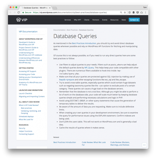 Direct Database Queries in WordPress | Tom McFarlin