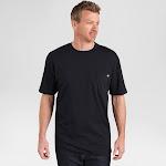 Men's Dickies 2 Pack Pocket T Shirts Black Large