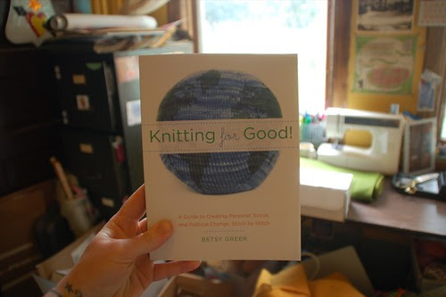 Knitting For Good, by Betsy Greer (Front)