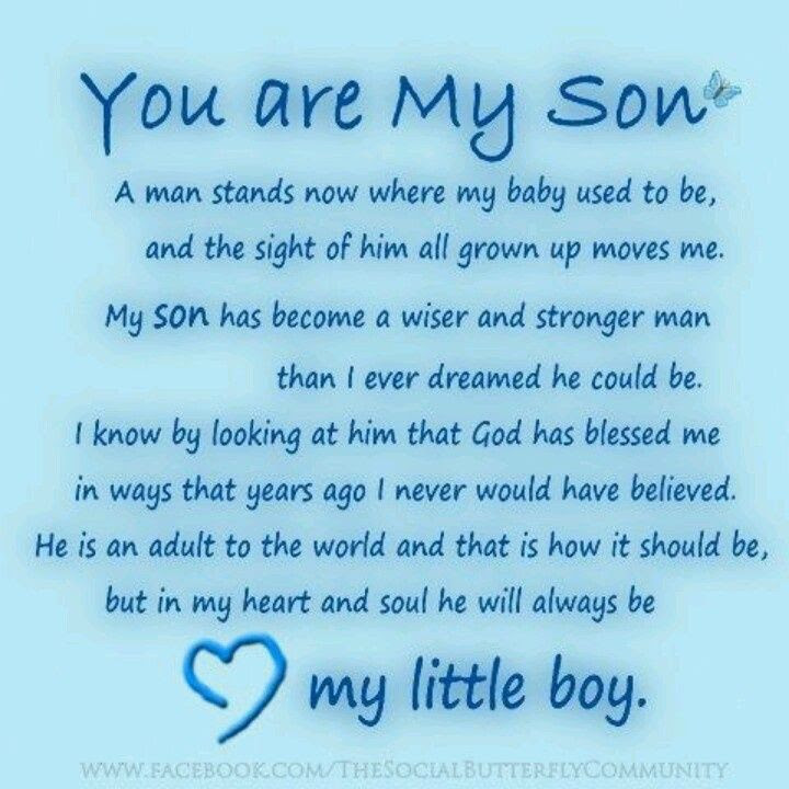 Quotes About Son On Birthday 24 Quotes