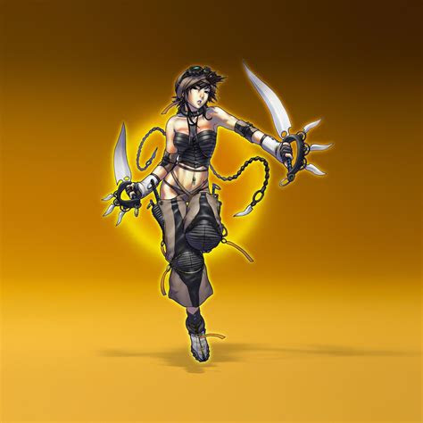 miscellaneous anime samurai ninja girl ipad iphone hd