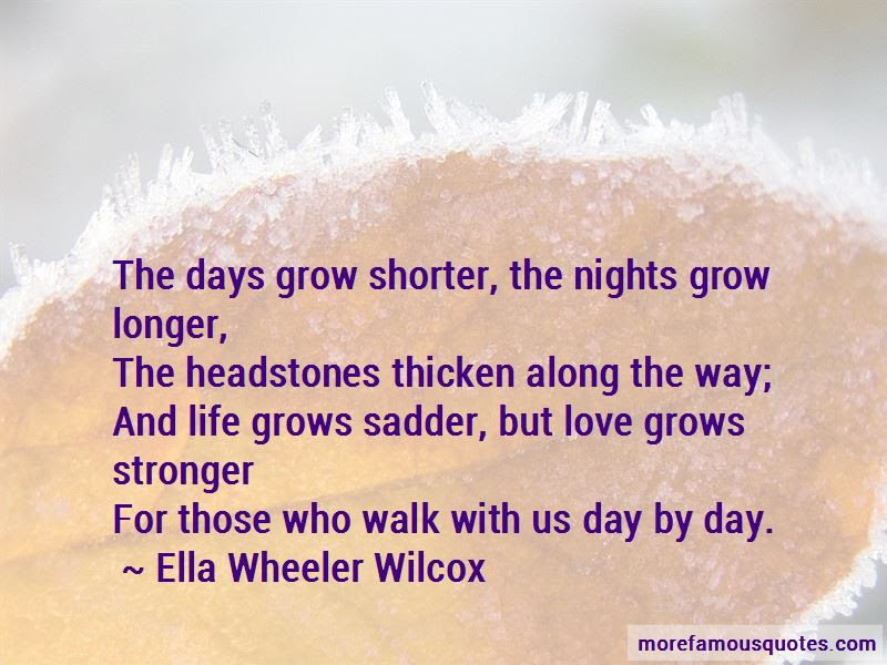 Love Grows Stronger Quotes Top 13 Quotes About Love Grows Stronger