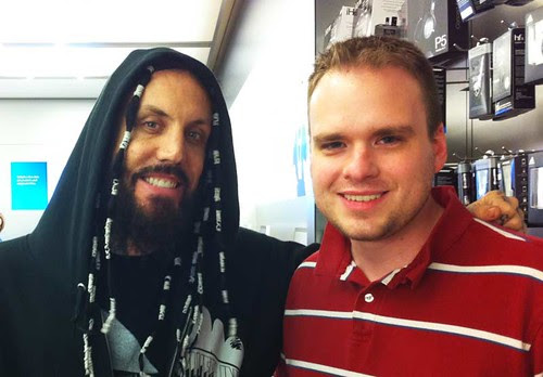 Former Korn guitarist Brian 'Head' Welch and Mike McGuff