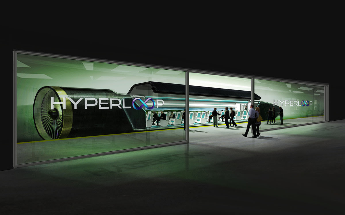 Image result for hyperloop train working