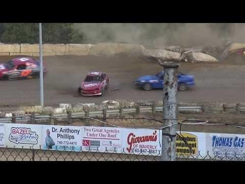 NBTF | Atomic Speedway | 10/19/19 | Doug Yust Wreck