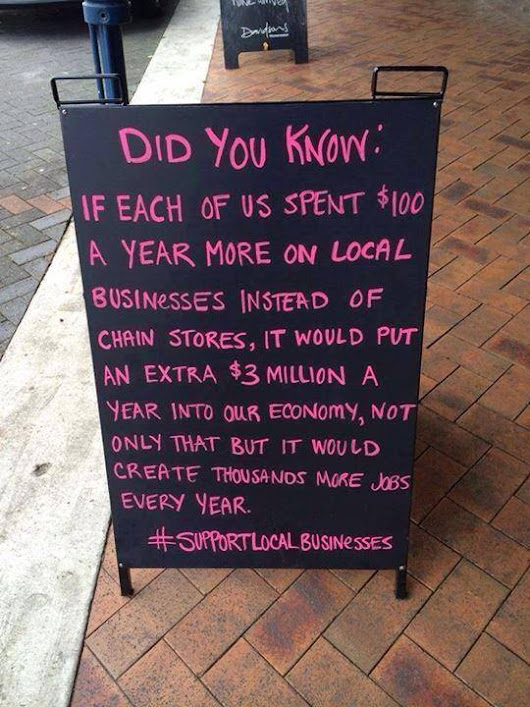 Community Businesses: Does It Really Matter If You Shop Locally?