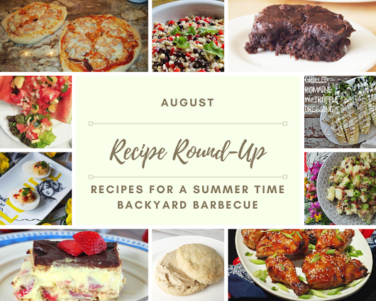 Summer and BBQ Recipe Ideas + Giveaway - Pies and Plots