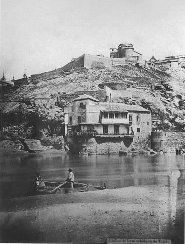 Casa del Diamantista (Toledo) a finales del siglo XIX. Fotografía de Casiano Alguacil.
