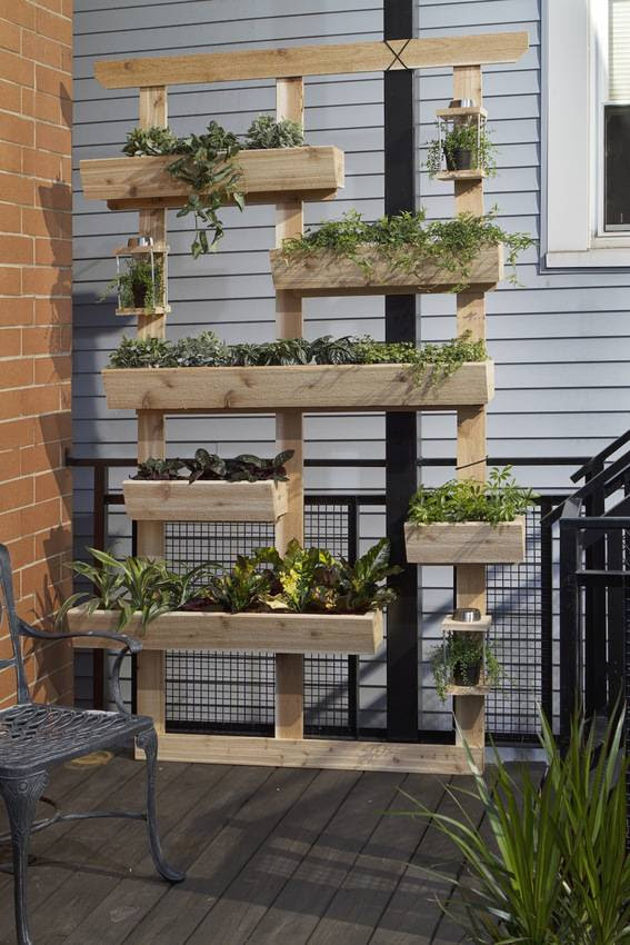 How to: Make a DIY Outdoor Living Plant Wall » Curbly | DIY Design