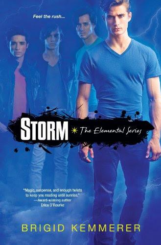 Storm (Elemental) by Brigid Kemmerer