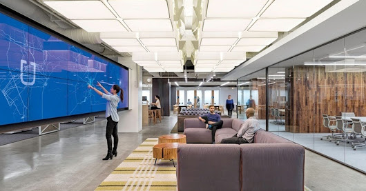 5 Jaw Dropping Workplace Design Elements for Modern Tech Firms