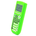 Guerrilla Silicone Case For Texas Instruments Ti-84 Plus Graphing Calculator, Green