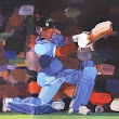 11 Pieces of Art which Showcase the Indian Cricket Team