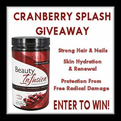 Cranberry Splash #Giveaway Ends 12/16