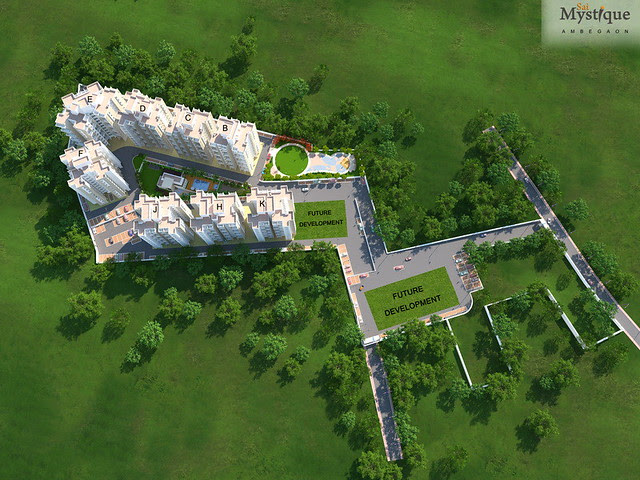 Layout Plan of Sai Mystique, Ambegaon Budruk, Pune 411 041