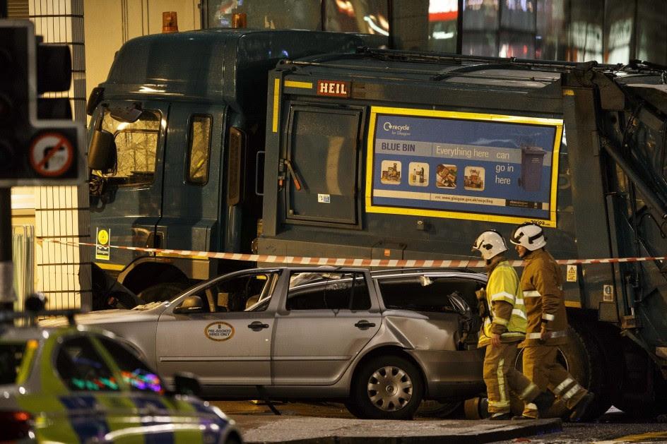 Un camión de la basura mata a seis personas en Glasgow