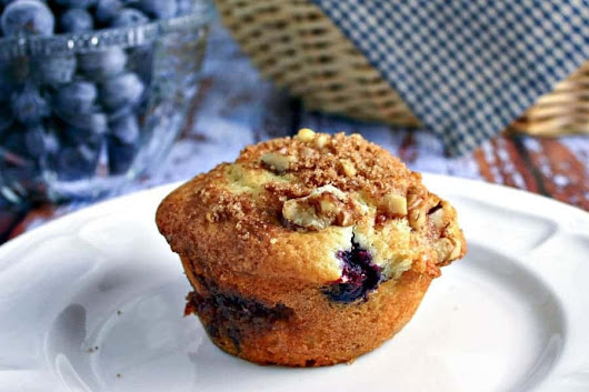 Blueberry Streusel Muffins - Life, Love, and Good Food