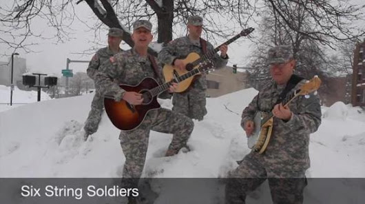Army band brings snow relief in the form of music - Metro - The Boston Globe