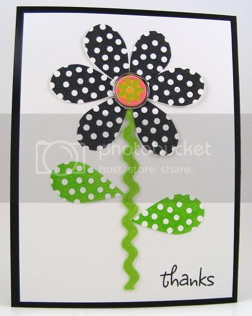 Butterfly Wings Flower Card
