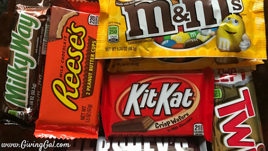 How to Teach Children about Giving with Leftover Candy