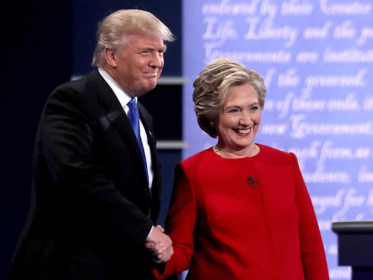 Did Donald Trump or Hillary Clinton Win Last Night's Presidential Debate? It Depends Which Poll You Trust