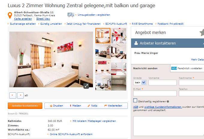 Wohnung Fellbach Immoscout