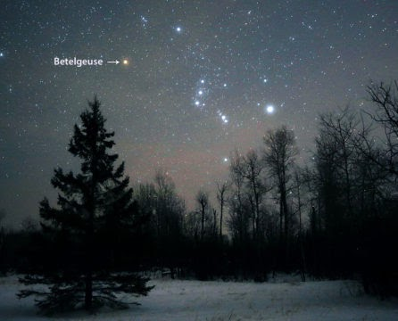 Betelgeuse is Dimming . . . You Know Why?