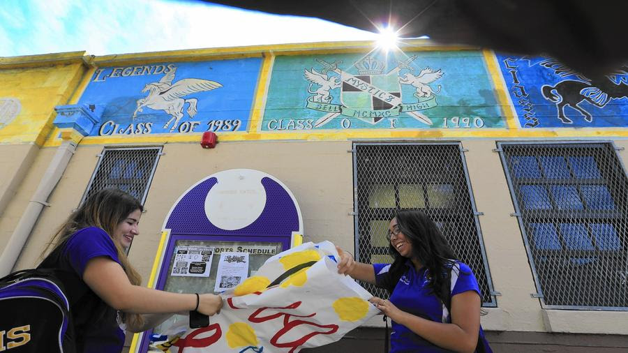 At Bell High, year-round schedule is seen as a plus