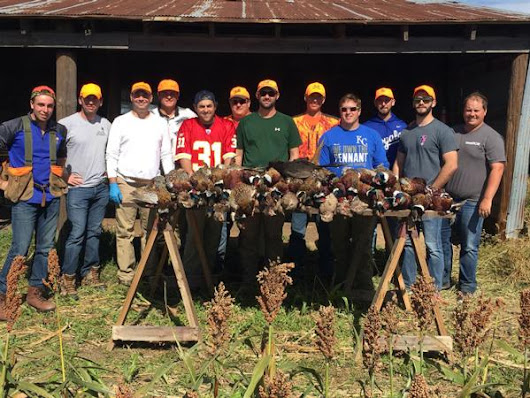 Bachelor Party Kansas Pheasant Hunt at NCK Outfitters