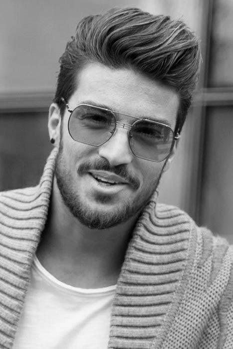 75 Männer Mittleren Frisuren Für Dickes Haar Manly Cut Ideen